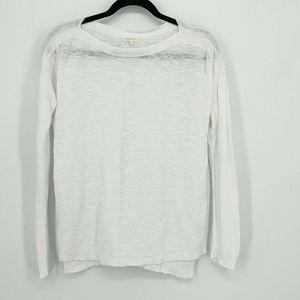 Eileen Fisher Organic Linen Boat Neck L/S Sweater